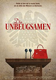 "Movie poster for ""DIE UNBEUGSAMEN"""