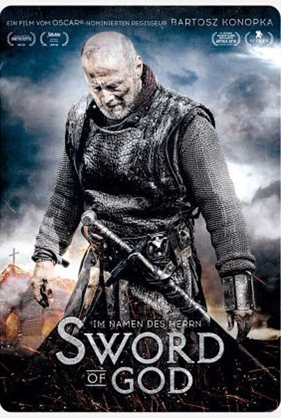 "Filmplakat für ""SWORD OF GOD"""