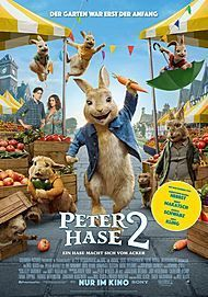 "Movie poster for ""PETER RABBIT 2: THE RUNAWAY"""