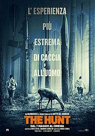 """Movie poster for """"THE HUNT"""""""