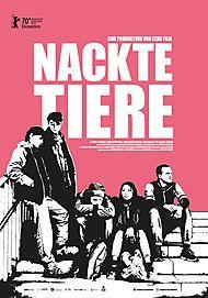 """Filmplakat für """"NACKTE TIERE"""""""