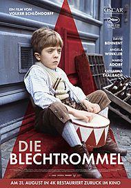 """Filmplakat für """"DIE BLECHTROMMEL"""""""