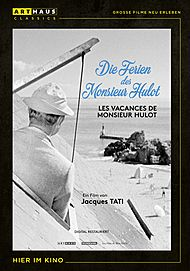 "Movie poster for ""MONSIEUR HULOT'S HOLIDAY"""