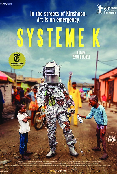 """Movie poster for """"SYSTEM K"""""""