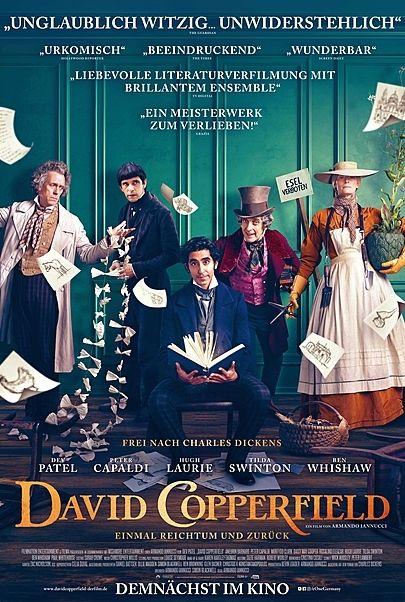 """Filmplakat für """"DAVID COPPERFIELD – EINMAL REICHTUM UND ZURÜCK"""""""