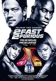 "Movie poster for ""2 FAST 2 FURIOUS"""