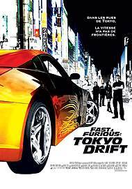 """Movie poster for """"FAST & FURIOUS: TOKYO DRIFT"""""""
