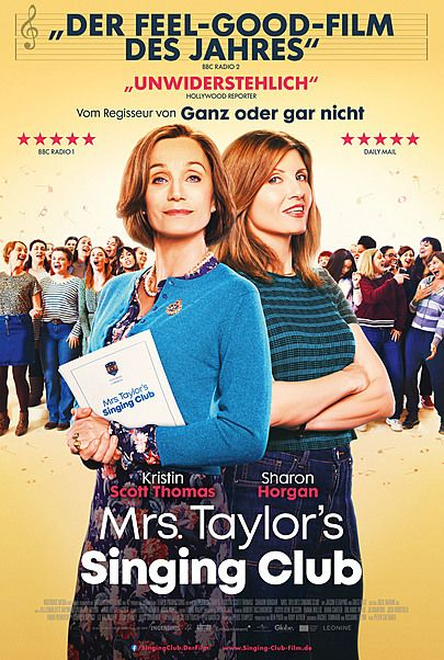 "Filmplakat für ""MRS. TAYLOR'S SINGING CLUB"""
