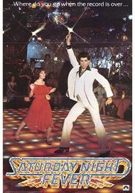 "Movie poster for ""Saturday Night Fever"""
