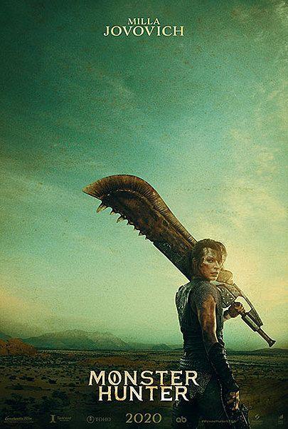 """Movie poster for """"MONSTER HUNTER"""""""