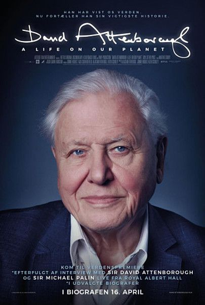 "Movie poster for ""DAVID ATTENBOROUGH: A LIFE ON OUR PLANET"""