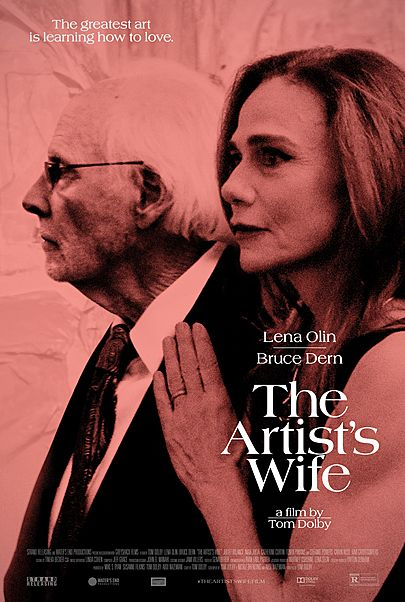"""Movie poster for """"THE ARTIST'S WIFE"""""""