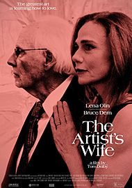 "Movie poster for ""THE ARTIST'S WIFE"""