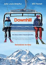 """Movie poster for """"Downhill"""""""