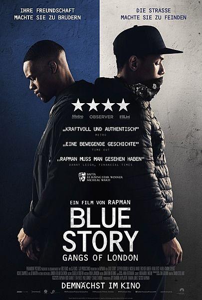 "Filmplakat für ""BLUE STORY - GANGS OF LONDON"""