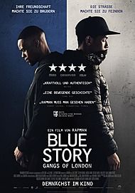 "Movie poster for ""BLUE STORY"""
