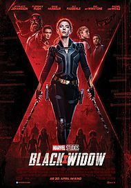 "Filmplakat für ""BLACK WIDOW"""