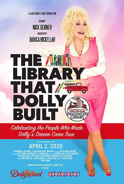 """Movie poster for """"THE LIBRARY THAT DOLLY BUILT"""""""