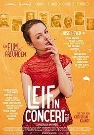 """Filmplakat für """"LEIF IN CONCERT VOL.2"""""""