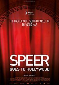 """Filmplakat für """"SPEER GOES TO HOLLYWOOD"""""""