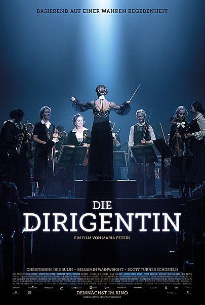 """Filmplakat für """"DIE DIRIGENTIN"""""""