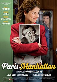 "Movie poster for ""PARIS MANHATTAN"""