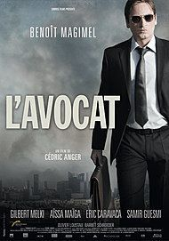 "Movie poster for ""L'AVOCAT"""