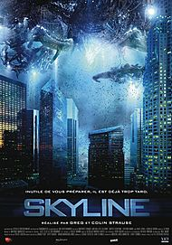 "Movie poster for ""SKYLINE"""
