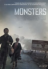 "Movie poster for ""MONSTERS"""