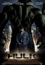 "Movie poster for ""THE INCREDIBLE HULK"""