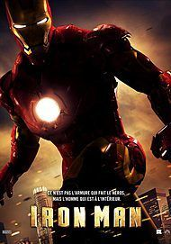 "Movie poster for ""IRON MAN"""