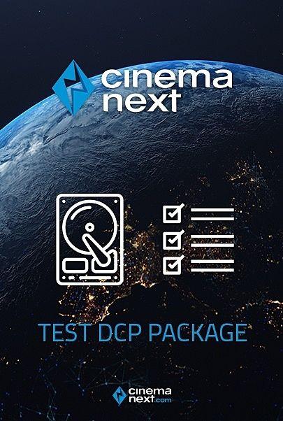 """Filmplakat für """"CINEMANEXT TEST DCP PACKAGE"""""""
