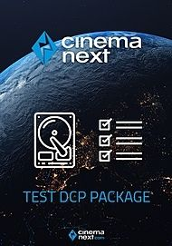 """Póster para """"CINEMANEXT TEST DCP PACKAGE"""""""