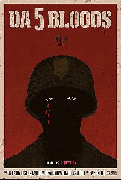 "Movie poster for ""DA 5 BLOODS"""