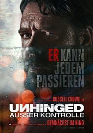 "Movie poster for ""UNHINGED"""