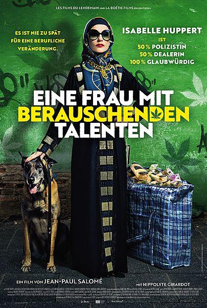 """Filmplakat für """"EINE FRAU MIT BERAUSCHENDEN TALENTEN"""""""
