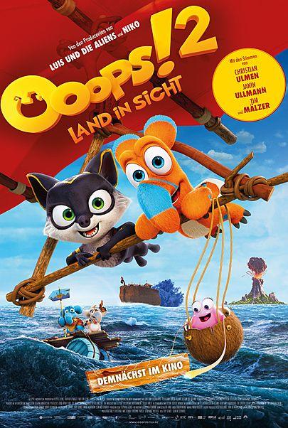 """Filmplakat für """"OOOPS! 2 - LAND IN SICHT"""""""