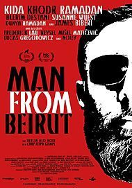"Movie poster for ""MAN FROM BEIRUT"""
