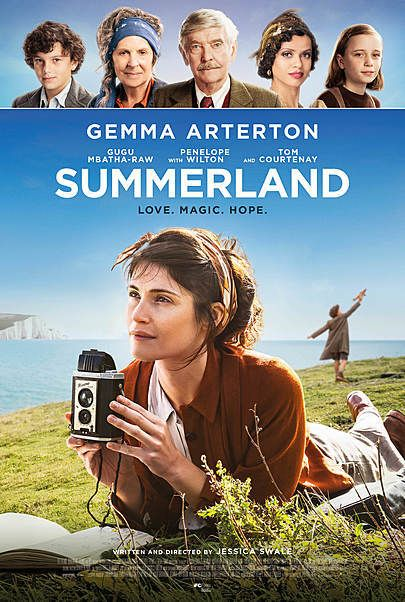 """Movie poster for """"SUMMERLAND"""""""