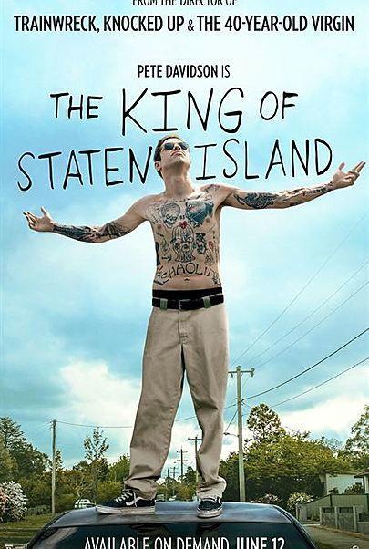 """Filmplakat für """"KING OF STATEN ISLAND"""""""