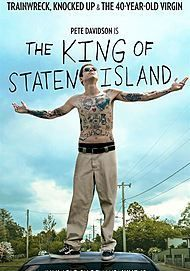 "Movie poster for ""KING OF STATEN ISLAND"""