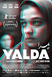 "Movie poster for ""YALDA - A NIGHT FOR FORGIVENESS"""