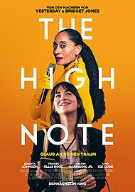 "Movie poster for ""THE HIGH NOTE"""