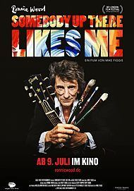 "Filmplakat für ""RONNIE WOOD: SOMEBODY UP THERE LIKES ME"""