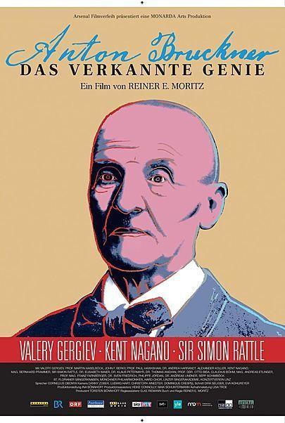 """Filmplakat für """"ANTON BRUCKNER - DAS VERKANNTE GENIE"""""""