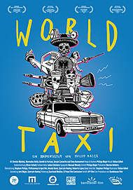 "Movie poster for ""WORLD TAXI"""