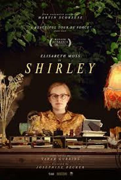 "Movie poster for ""SHIRLEY"""