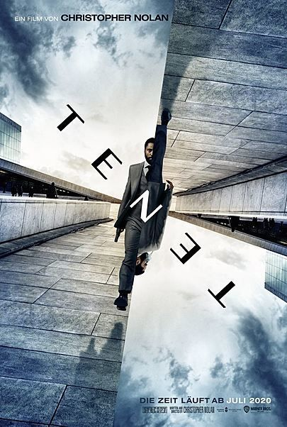 "Movie poster for ""TENET"""