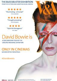 "Movie poster for ""DAVID BOWIE IS"""