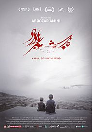 "Movie poster for ""KABUL, CITY IN THE WIND"""
